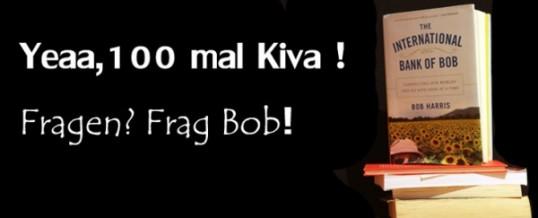 Kiva – Mein 100ter Beitrag für eine bessere Welt