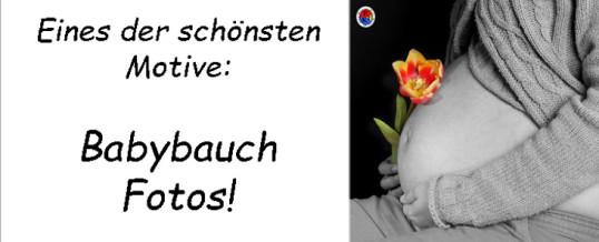 Was machen gute Babybauch Fotos aus ?