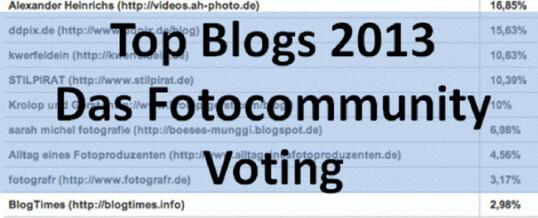 Oscar Verleihung oder Blogvorstellung -Fotocommunity Fotoblogwahl 2013