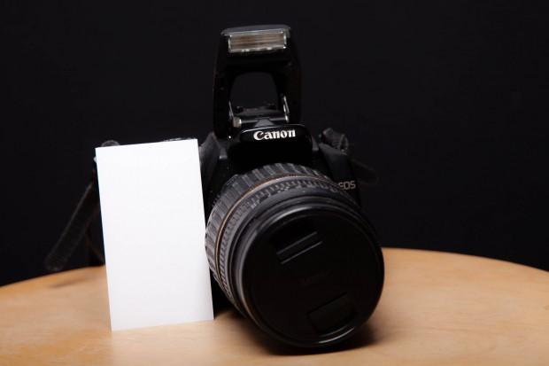 Visitenkarte-und Kamera