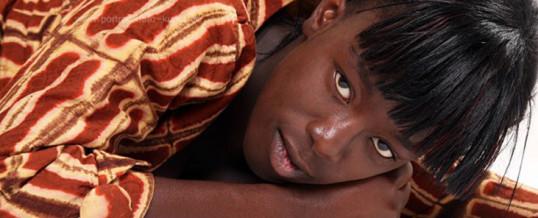 Afrikanische Kleider: ein Fashion Shooting