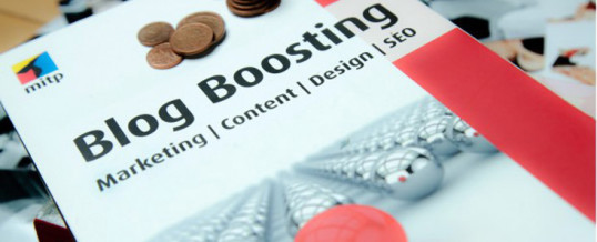 Blog Boosting – Excelentes Buch zum Blog Marketing