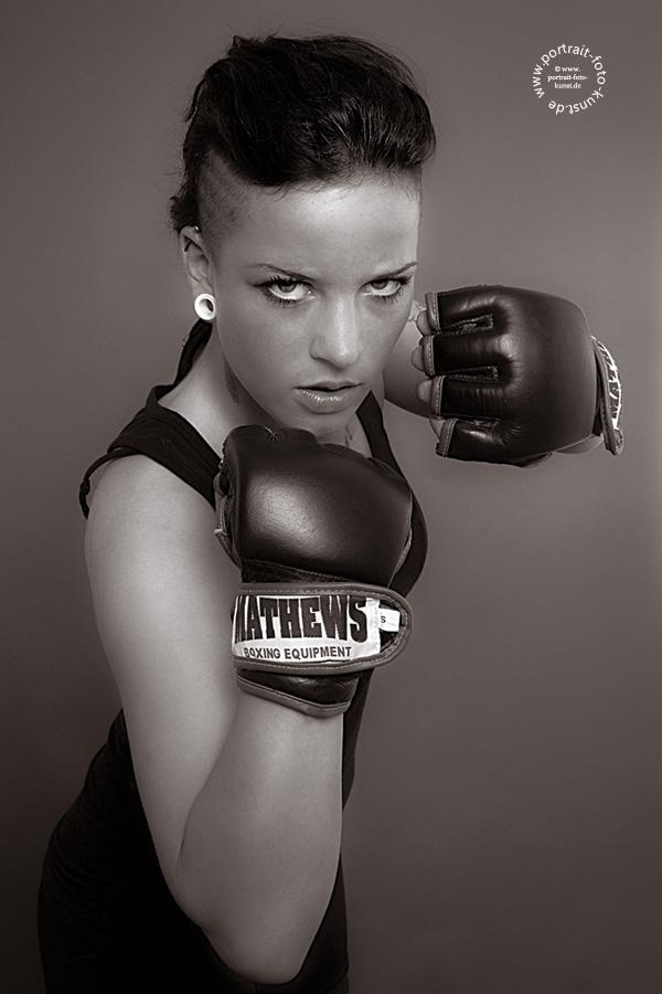 Boxerin-Portrait-Foto-Kunst-1