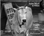 India Black & White - Peoples & Cows