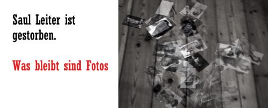 Saul Leiter gestroben – Was bleibt sind Fotos