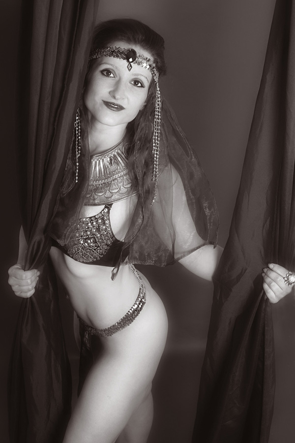 Foto von dem kompletten Burlesque Outfit