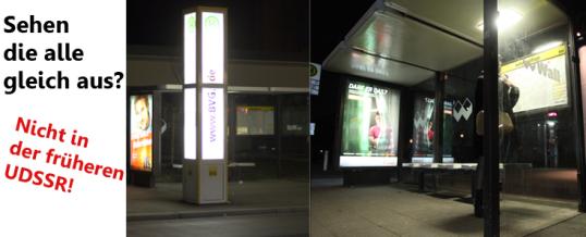 """Soviet Bus Stops"" –   Bushaltestellen, Kunst und Betonklötze"