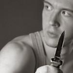 Gangster-mit-Messer
