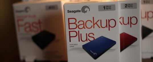 Backup-Festplatte für Fotografen:  Seagate stellt sie vor!