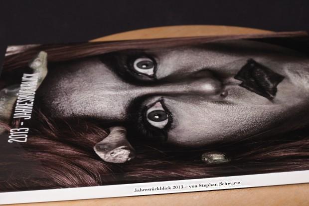 Der Einband des Fotobuches kann seperat bedruckt werden.werden.