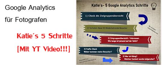Google Analytics für Fotografen in 10 Minuten: Katie zeigt wie!