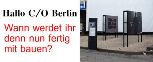 Gemeinsamkeiten: C/O Berlin und der Berliner Flughafen