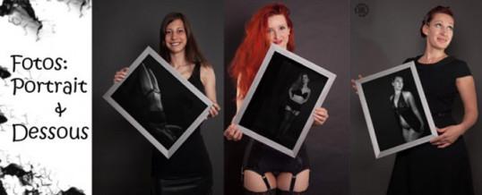 Kreative Boudoire Fotografie – Portraits mit Rahmen