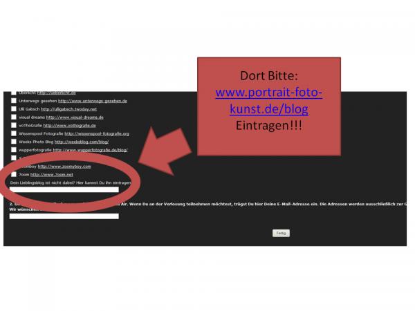 Blog-Wählen