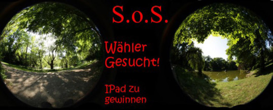 S.O.S – HILFE GESUCHT!!!