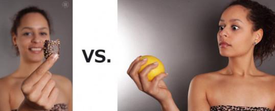 Keks vs. Zitrone
