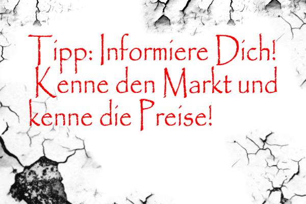 Marktpreise-Kunst