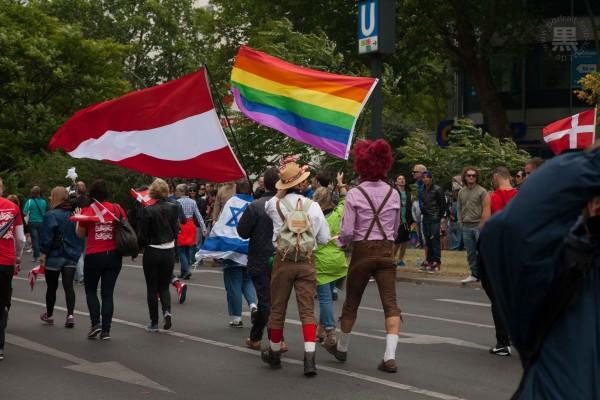 CSD_2014 Regenbogenflagge