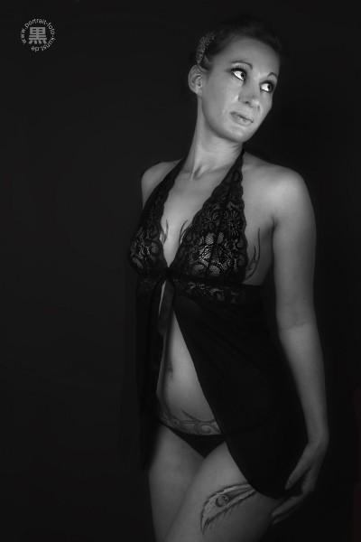 Portrait-Dessousfoto