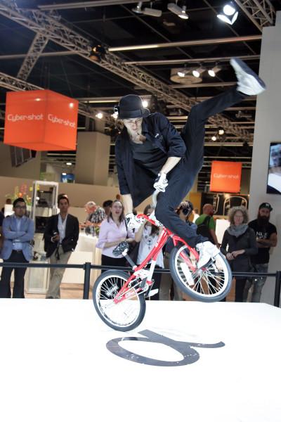 Photokina-Fahrrad