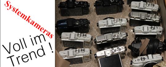 Kamerakauf: Spiegelreflex oder Systemkamera?