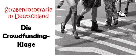 Streetphotography-Klage per Crowdfunding: Fotograf Espen Eichhöfer legt los