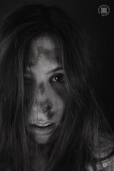 Portrait-schwarz-weiß