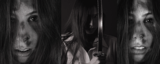 Portraits mit Katana – Fotos aus einem Shooting