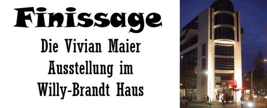 Finissage der Vivian Maier Ausstellung