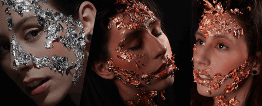 Metal Make-Up Shooting