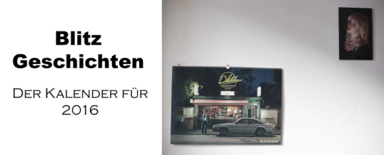 Blitzgeschichten: Der Kunst-Kalender 2016