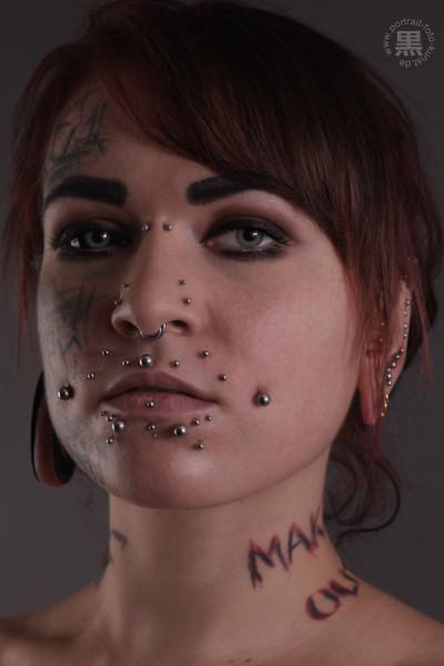 Augen-Tattoo