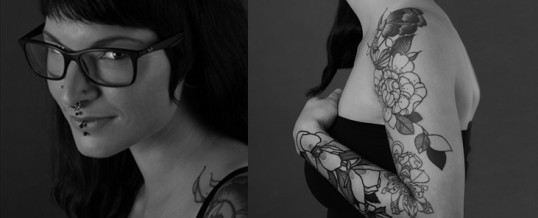 Nerd-Portaits und Tattoo Shooting