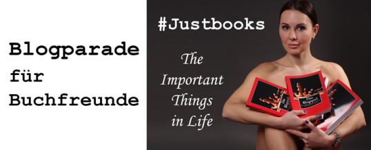 Blogparade #Justbooks – Welche 3 Bücher würdest Du auf eine Insel mitnehmen?