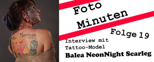 Interview mit dem Tattoo-Model Balea NeonNight Scarleg