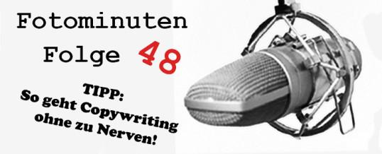 Karamel und Copywriting: Wie du Texte schreibst die eine gute Conversionrate haben [#Fotominuten 048]