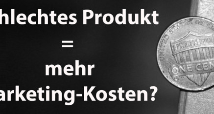 Was zu viel Marketing über ein Produkt sagt: Ja, das gilt auch im Kunstmarketing!