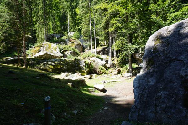 Boulderpark la Plana - Val di Daone