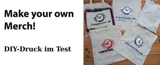 Make your own Merch!  – DIY-Druck-Methoden zum Taschenbedrucken im Test